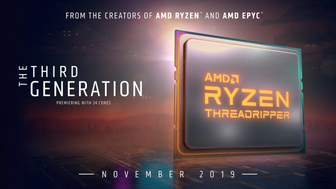 AMD Ryzen Threadripper 3rd Gen