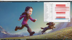 Blender Spring TITAN RTX CUDA GPU Test Result