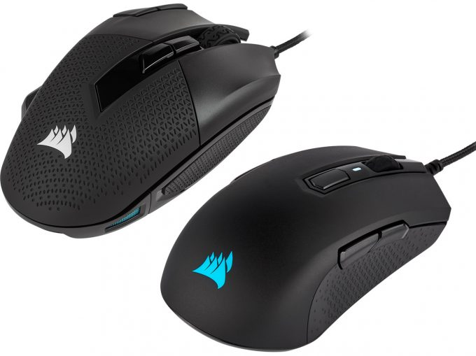 Corsair Nightsword RGB and M55 RGB PRO Gaming Mice Thumbnail