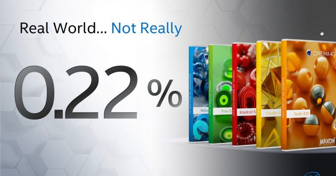 Intel Contradicts Itself Over Claiming Cinema 4D Is Not An