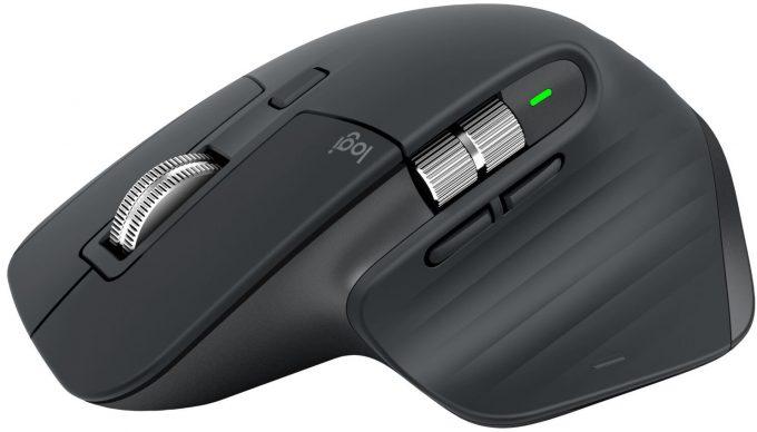 Logitech MX Master 3 Mouse - Angle