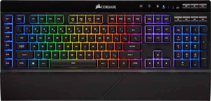 Corsair K57 RGB WIRELESS Feature