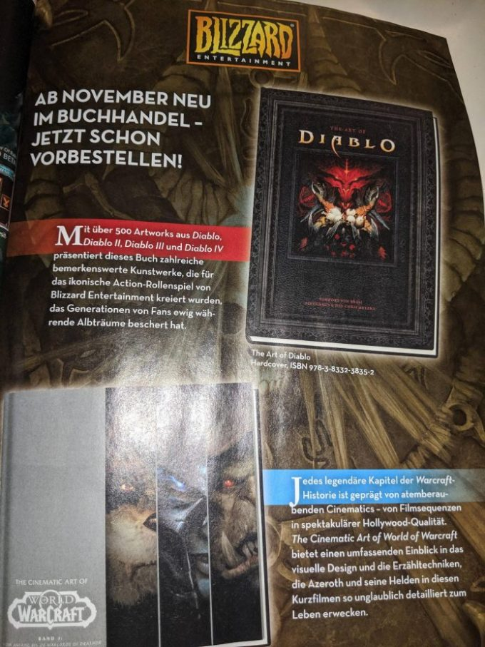 Diablo 4 Artbook Mention