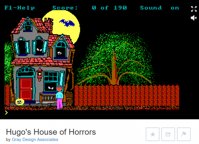 Hugo's House of Horrors on Internet Archive