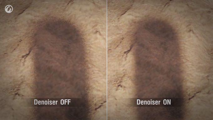 World of Tanks - Ray Tracing Denoising Example