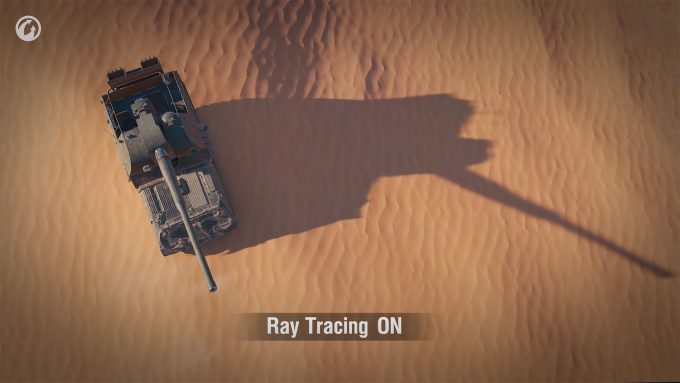 World of Tanks - Ray Tracing Example 1