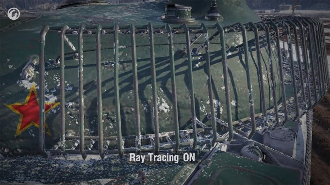 World of Tanks - Ray Tracing Example 2