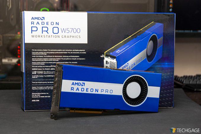 AMD Radeon Pro W5700 - Overview