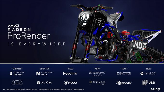 AMD Radeon ProRender Support