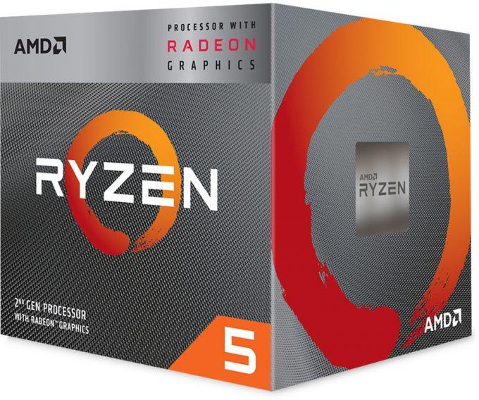 AMD Ryzen 5 3400G Packaging