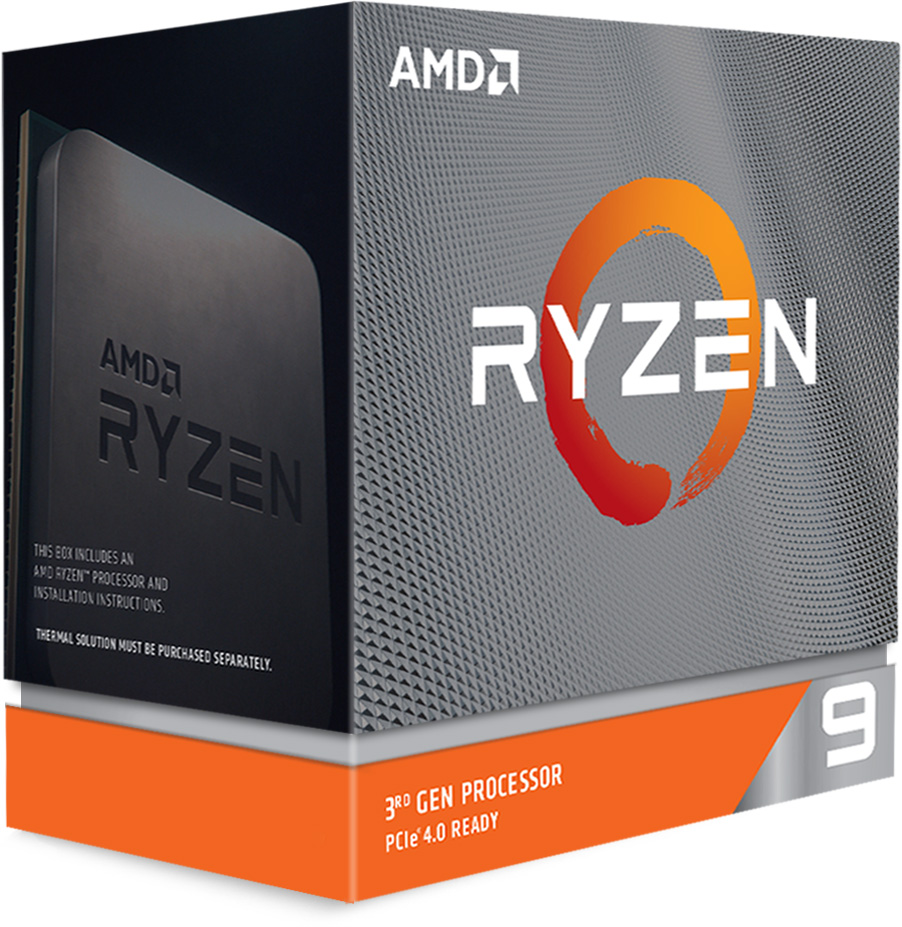 AMD Ryzen 9 3950X Packaging - Left Side