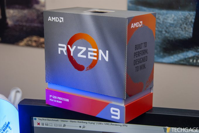 AMD Ryzen 9 3950X Processor Packaging