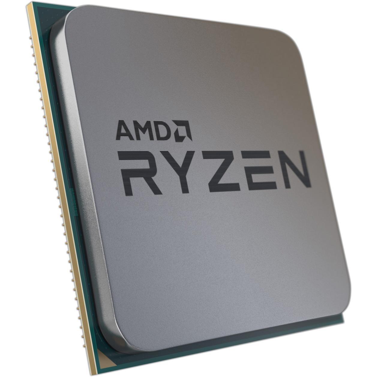 AMD Ryzen Chip Shot - Angled