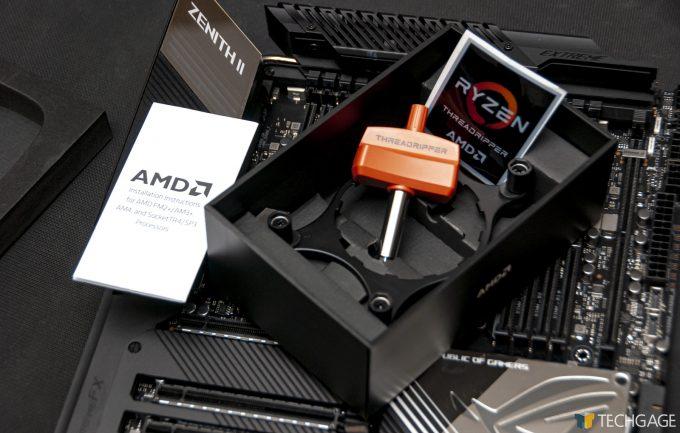 AMD Ryzen Threadripper Third-gen Package Contents