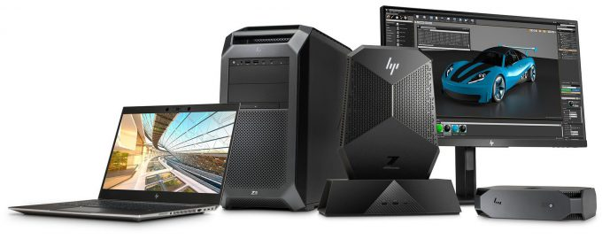 HP Z Series - Project Captus