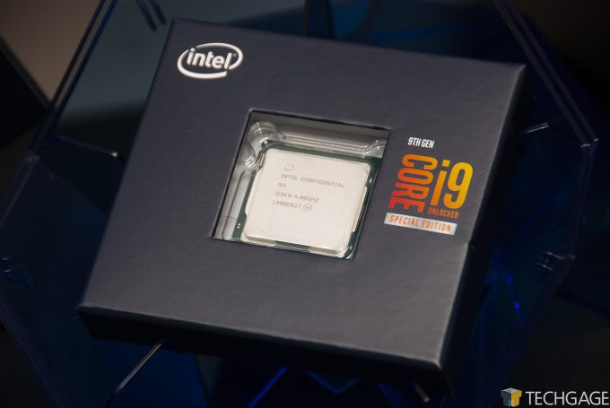 Intel Core i9-9900KS - CPU Box