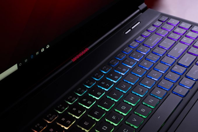 MAINGEAR VECTOR 15-inch Gaming Notebook - Keyboard Close-up