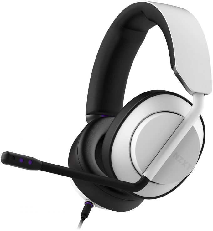 NZXT AER Closed-back Headset
