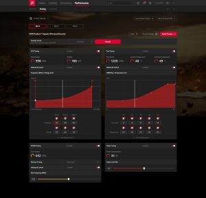 AMD Radeon Software Adrenaline 2020 Performance - Tuning (OD8) - Manual (Advanced - Expanded)