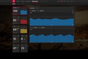 AMD Radeon Software Adrenaline 2020Performance - Metrics - FPS
