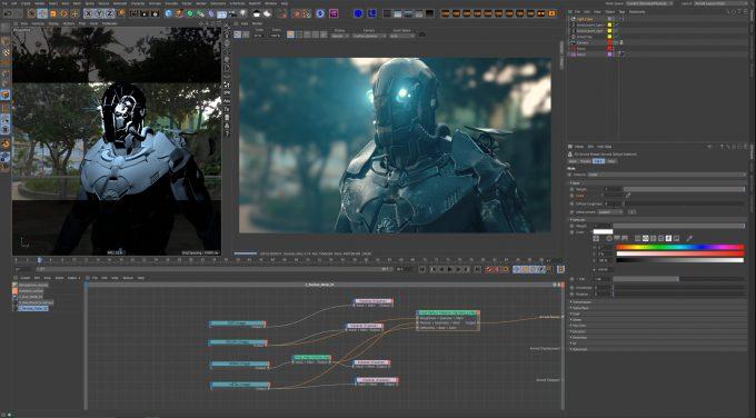 Autodesk Arnold 6 GPU in Cinema 4D