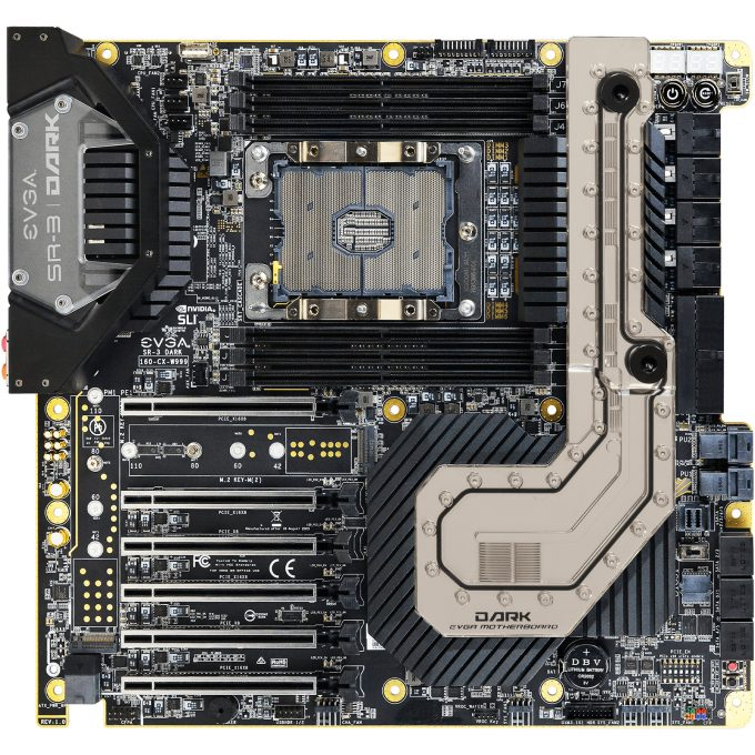 EVGA SR-3 Dark Intel Xeon Motherboard