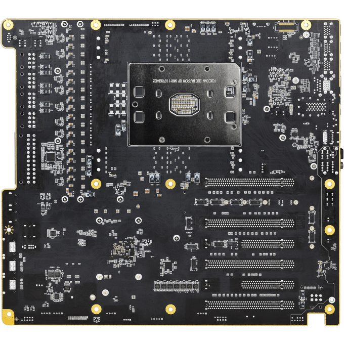 EVGA SR-3 Dark Intel Xeon Motherboard - Back