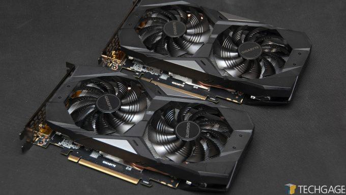 GIGABYTE GeForce GTX 1660 SUPER and GTX 1660
