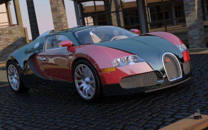 NVIDIA Fermi Ray Tracing - Bugatti Veyron