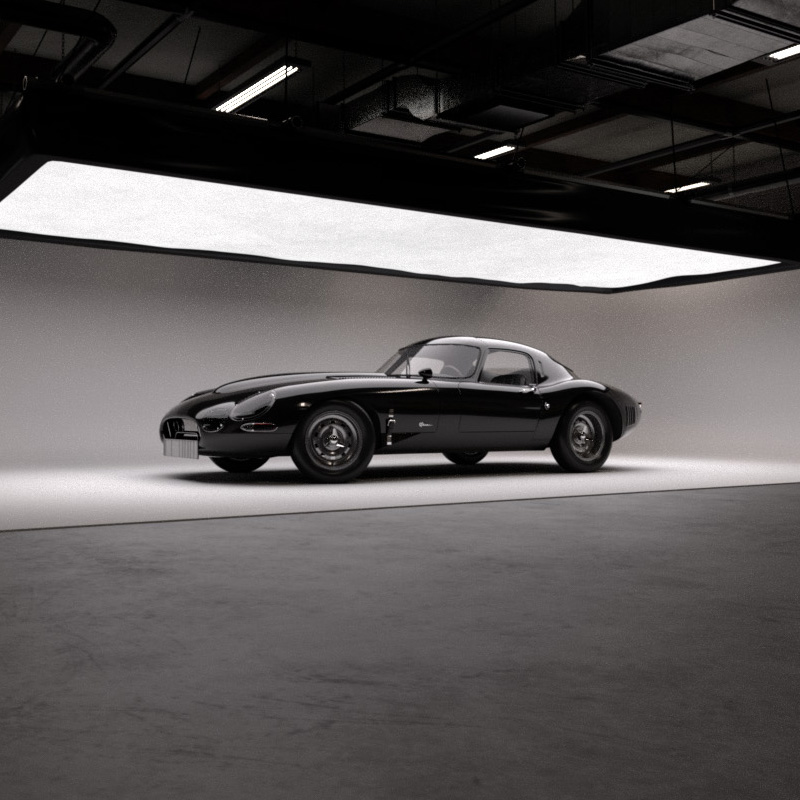 Autodesk Arnold - Jaguar E-Type Render