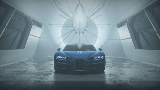 Bugatti Chiron KeyShot 9 Render (Credit Nils Piirma)