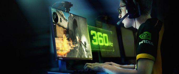 NVIDIA G-SYNC 360Hz Example