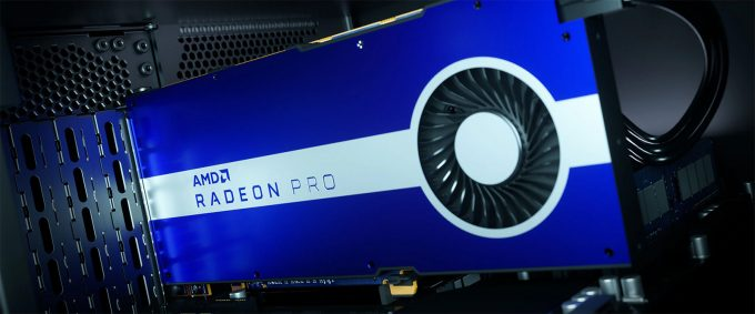 AMD Radeon Pro W5500 Professional Graphics Card