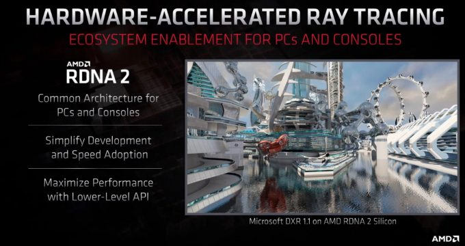AMD Hardware Accelerated Ray Tracing