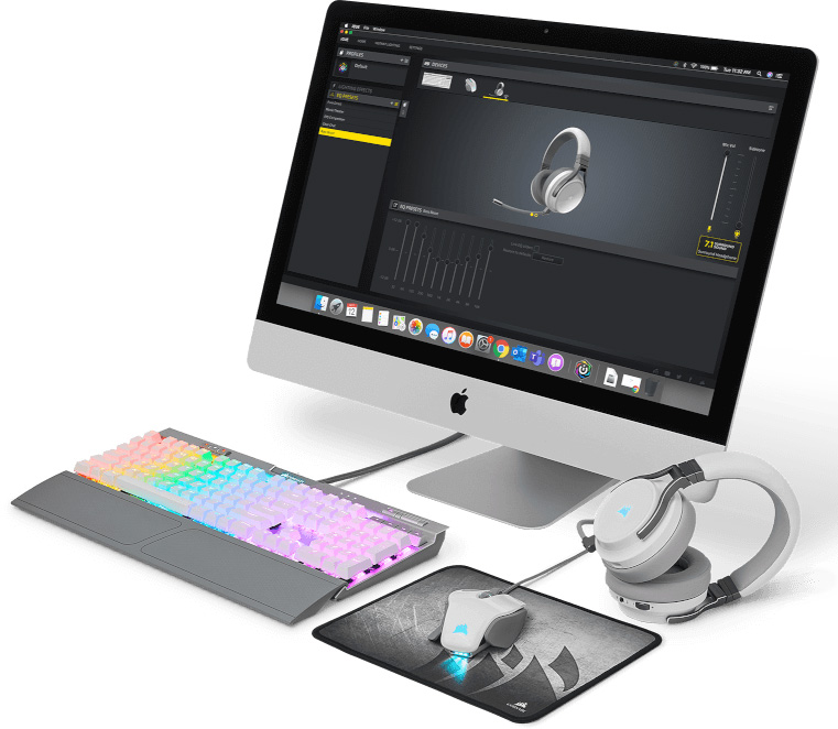 Corsair iCUE macOS Peripheral Feature