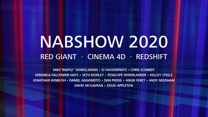 Maxon Virtual NAB Show 2020