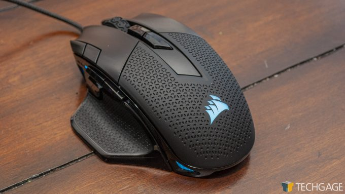 iCUE Review Nightsword Mouse 1