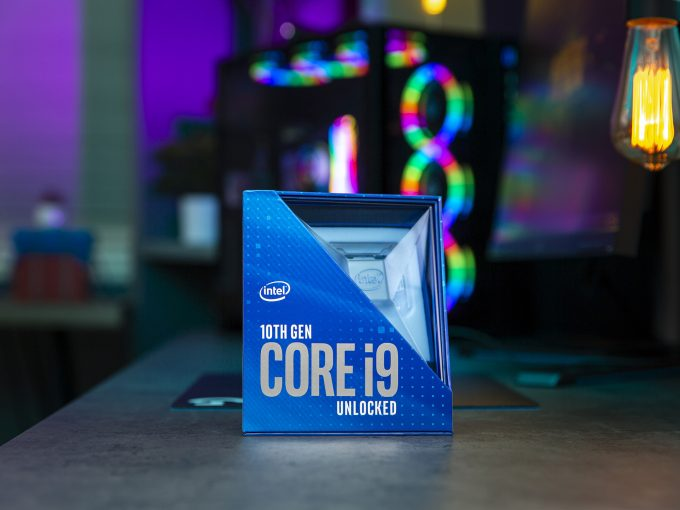 Intel Comet Lake-S 10th-gen Core i9 Packaging