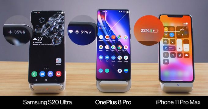OnePlus 8 Pro Wireless Charging Claims