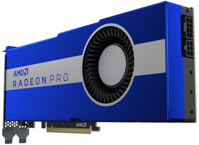 AMD Radeon Pro VII - Long View