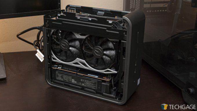 Intel Quartz Canyon Workstation NUC - Quadro P2200 Replaced With GeForce RTX 2060