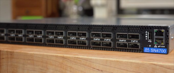 Mellanox Spectrum 4000-series Ethernet Switch