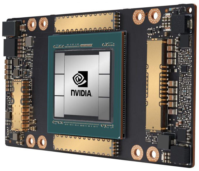 NVIDIA Ampere-based A100 Data Center GPU