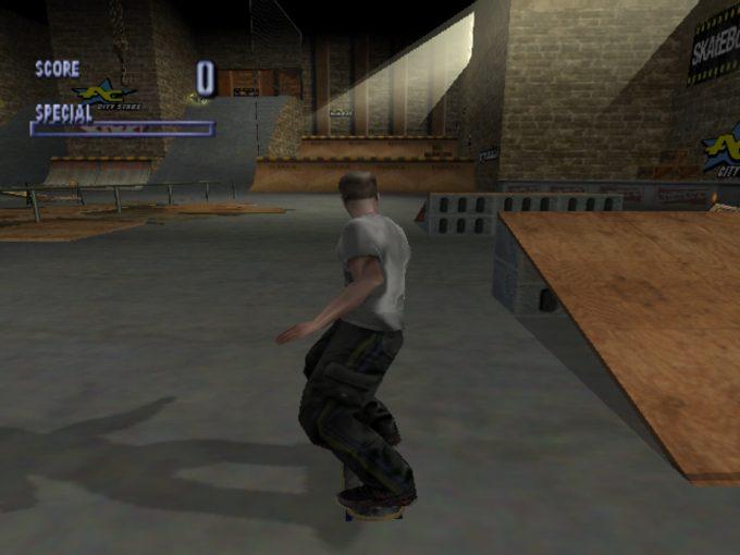 Tony Hawk's Pro Skater 1 (Dreamcast) - Warehouse