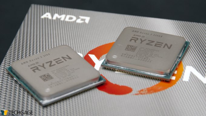 AMD Ryzen 3 3100 and Ryzen 3 3300X
