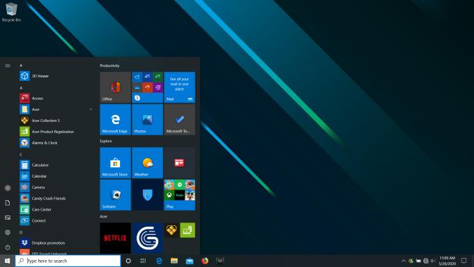 Acer Predator Triton 500 - Fresh Desktop