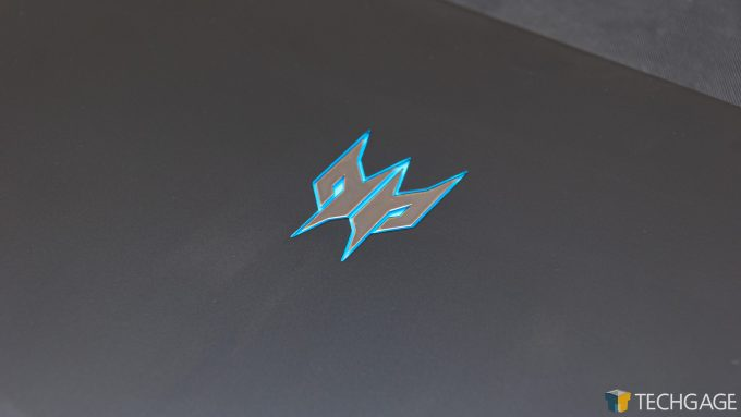 Acer Predator Triton 500 - Predator Logo Close-up