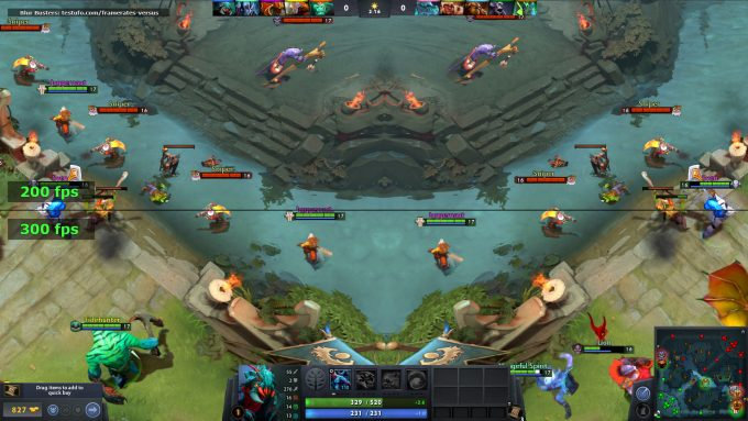 Blur Busters Refresh Rate MOBA Test