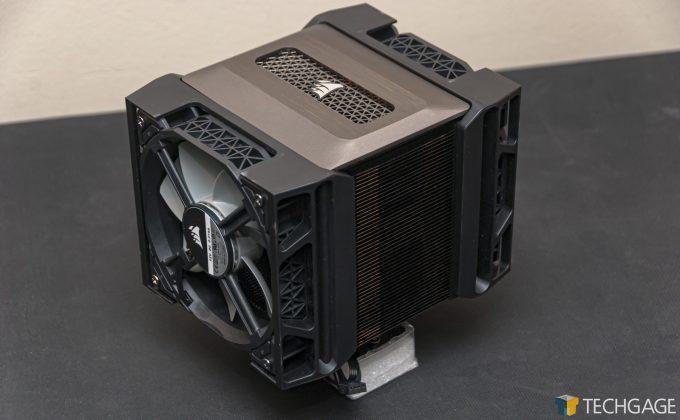 Corsair A500 Dual-fan Cooler - Overview