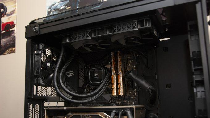 Corsair iCUE H100i RGB PRO XT Cooling An Intel Core i9-9900KS